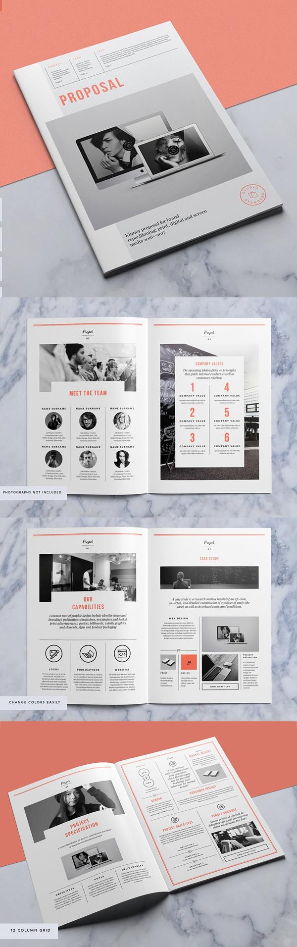Diseño de mockups de propuesta de negocio profesional - 6