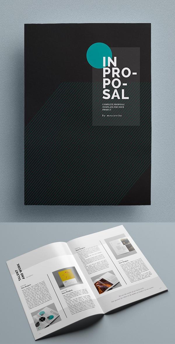 Diseño de mockups de propuesta de negocio profesional - 7