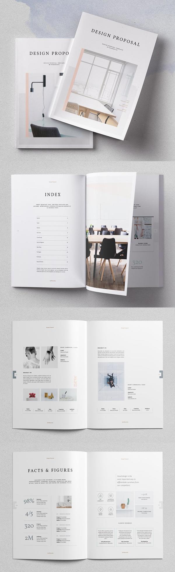 Diseño de mockups de propuesta de negocio profesional - 9