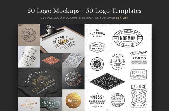 Plantillas mockups gratis para presentar tus logotipos