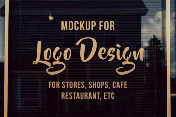 cm-00-3 Plantillas de maquetas de logotipos para descargar y usar para presentar sus logotipos