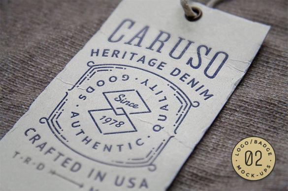 cm-01a- Plantillas de maquetas de logotipos para descargar y usar para presentar sus logotipos
