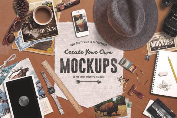 portada: plantillas de maquetas de logotipos para descargar y usar para presentar sus logotipos