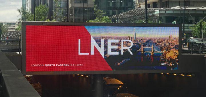 imagen corporativa, nombre nuevo para marca de ferrocarril LNER