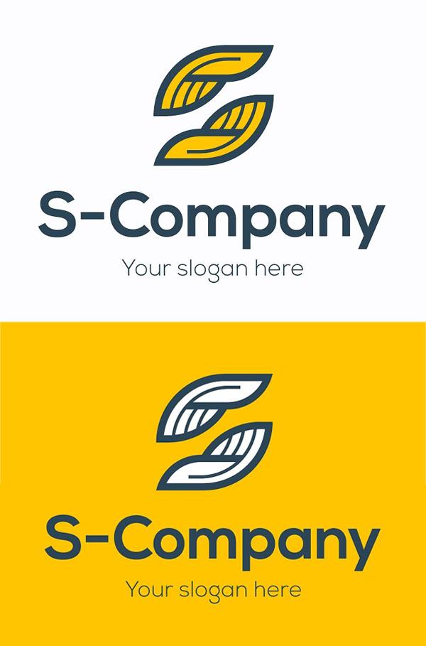 plantillas de logotipos, Logotipo de la empresa S