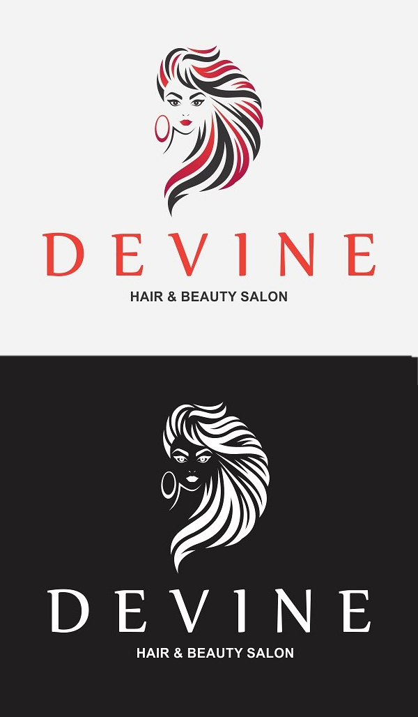 Logotipo de Hair Salon
