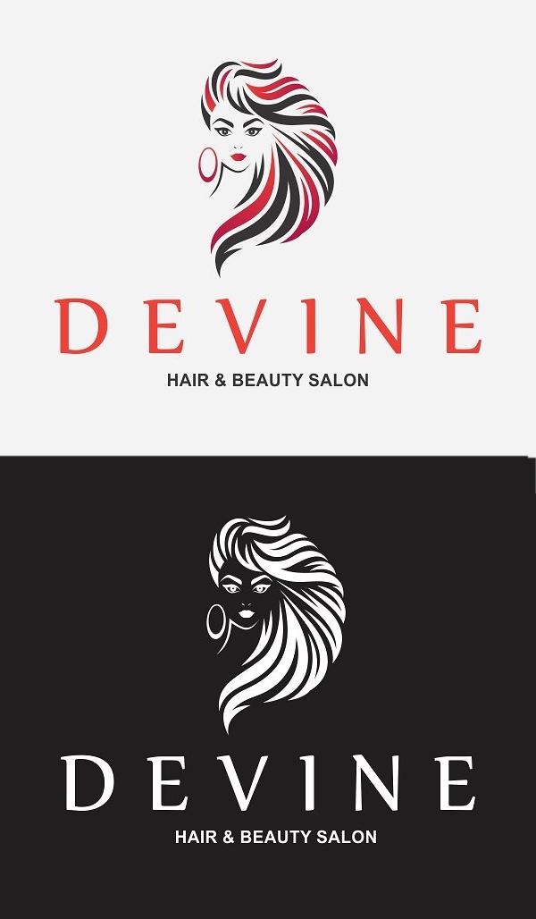 plantillas de logotipos, Logotipo de Hair Salon