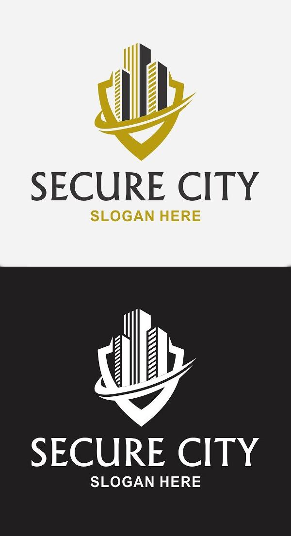 plantillas de logotipos, Real Estate Logo
