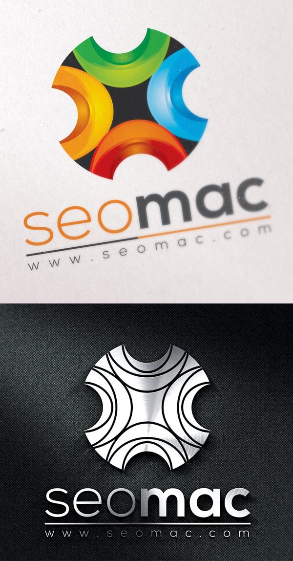 plantillas de logotipos, Plantilla de logotipo abstracto 3D