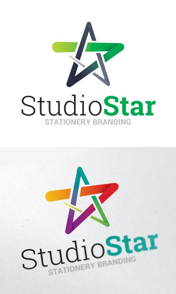 plantillas de logotipos, Plantilla de logotipo de símbolo de estrella