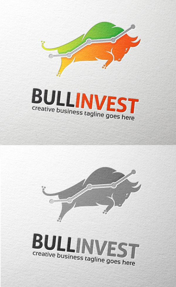Logotipo de Bull Invest