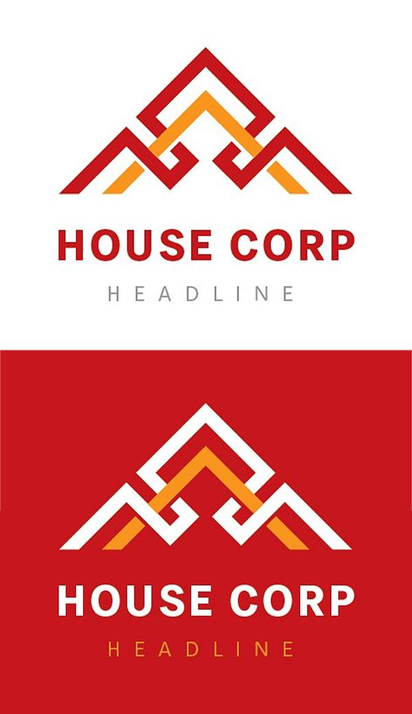 Logotipo de la casa corp