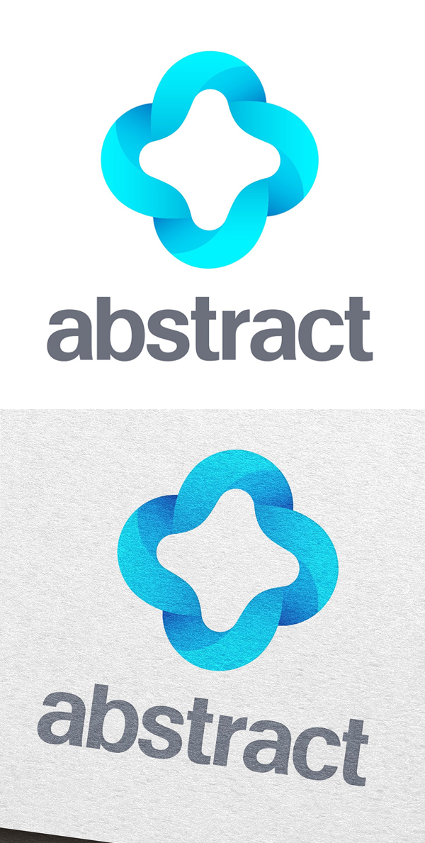 Logotipo abstracto