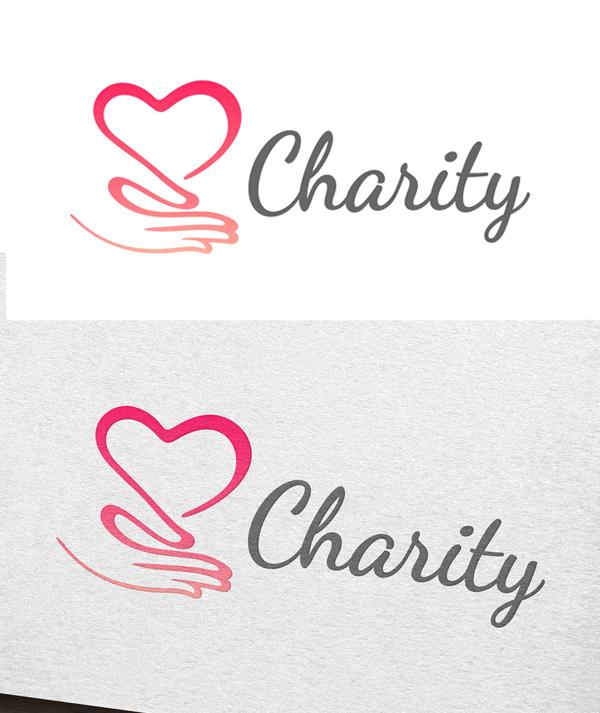 plantillas de logotipos, Logotipo de la caridad