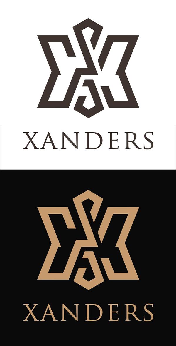 plantillas de logotipos, Letra X Logo