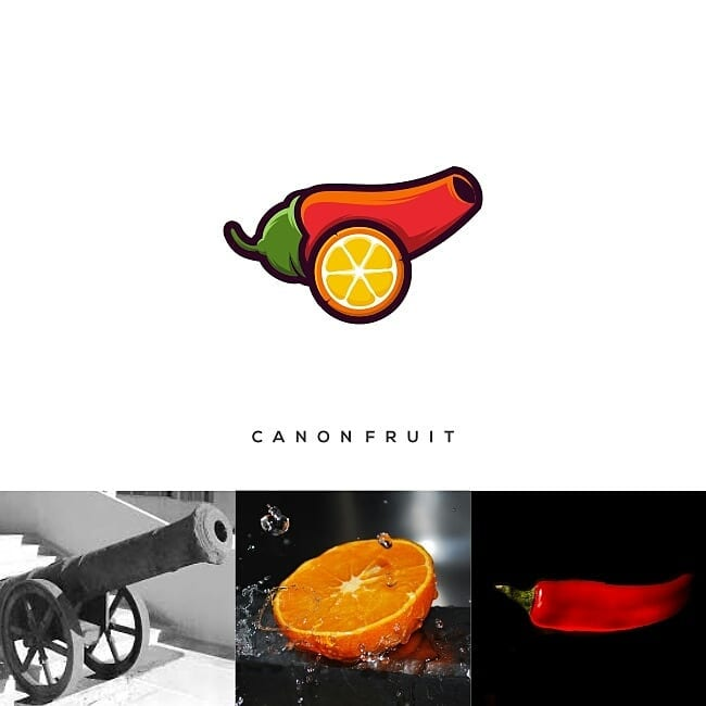 Logos made by combining two different things - 20