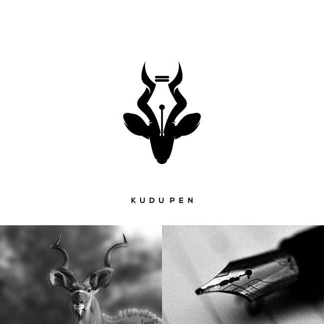 Logos made by combining two different things - 6