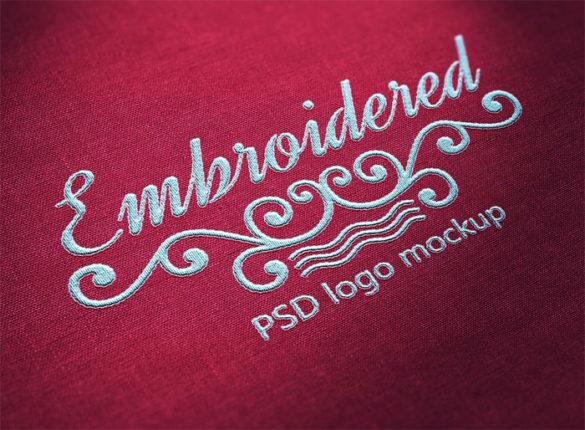 stitched_logo_3- Plantillas de maquetas de logotipos para descargar y usar para presentar sus logotipos