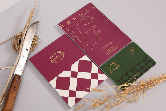 Designs with elegance and quality for Prosciutto di Norcia