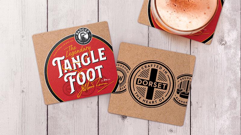 Dorset cervecería, Badger rediseño tejon