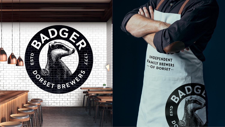 Dorset cervecería, Badger rediseño tejón