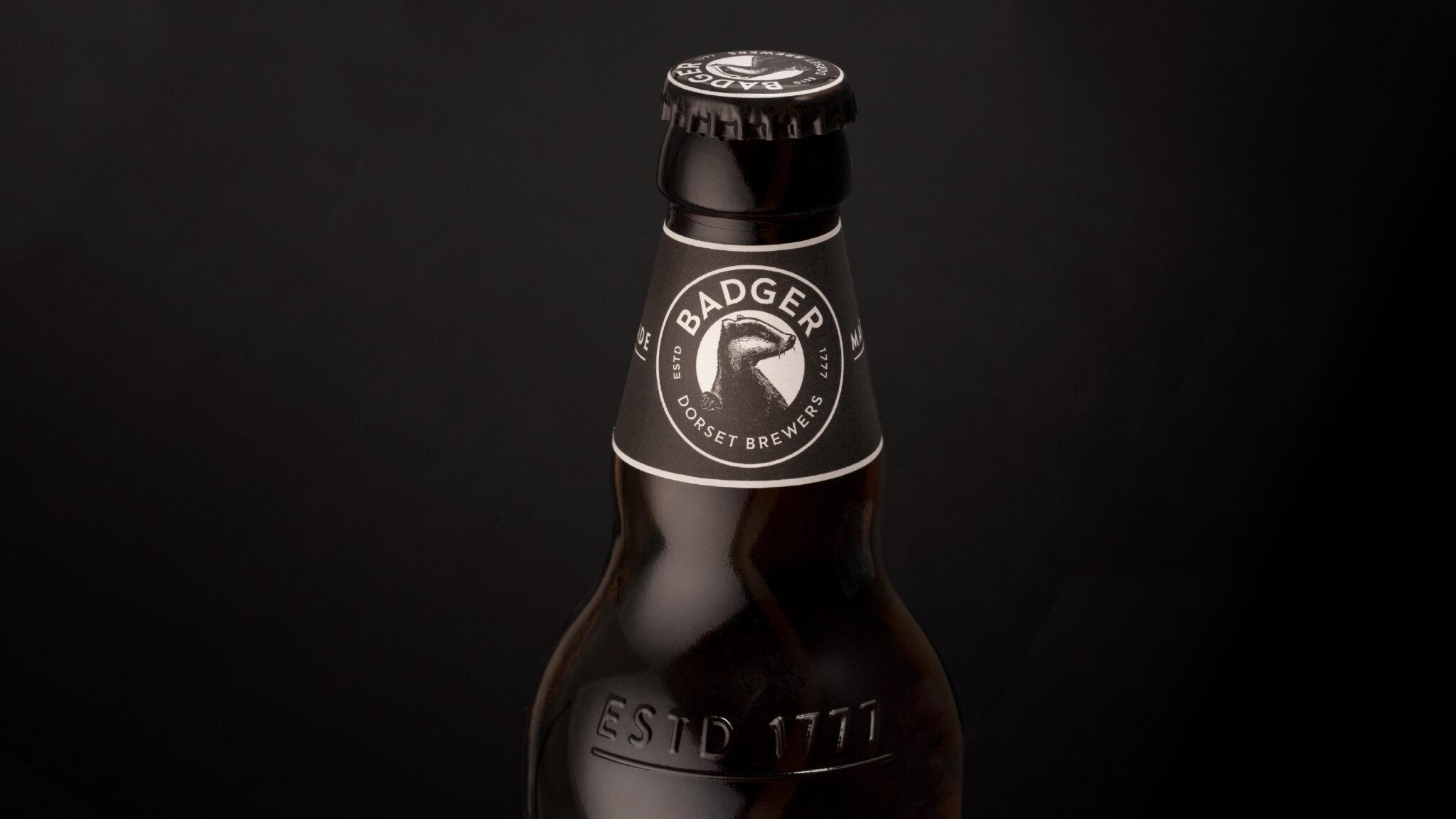 Dorset cervecería,Badger rediseño tejon