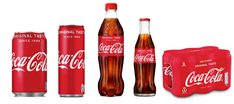 Coca-Cola rediseña sus envase antiguo