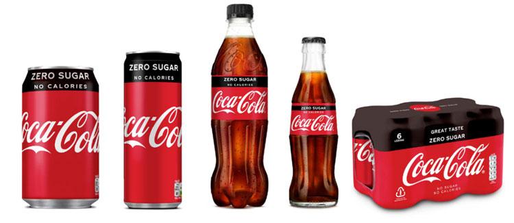 Coca-Cola rediseña sus envase