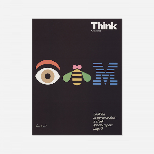Paul Rand logo IBM Apple Steve Jobs