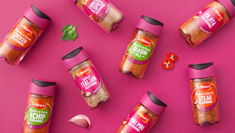 Tipos de diseño gráfico e importancia: envases y rediseño de espacias, condimentos