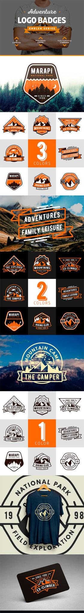 logotipos aventura - escalado-climbing