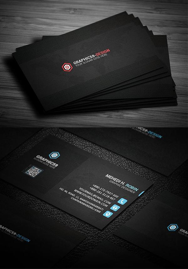 tarjetas de presentación creativas, Pixel Business Card Design