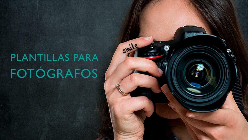 plantillas para fotógrafos