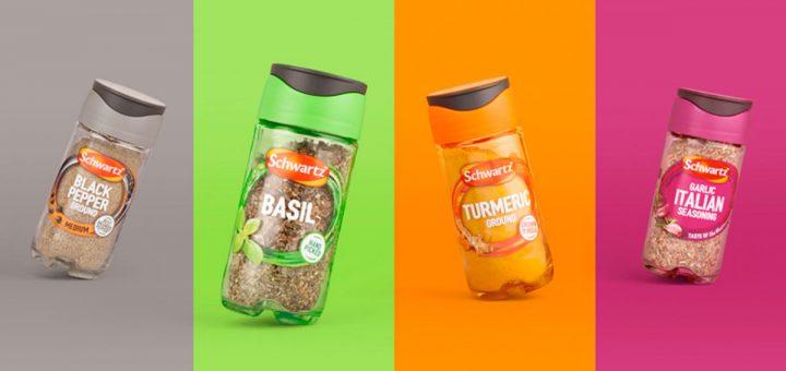 envases y rediseño de espacias, condimentos