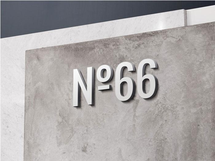 3D-Wall-Logo-MockUp-3-I Plantillas de logotipo para descargar y usar para presentar sus logotipos