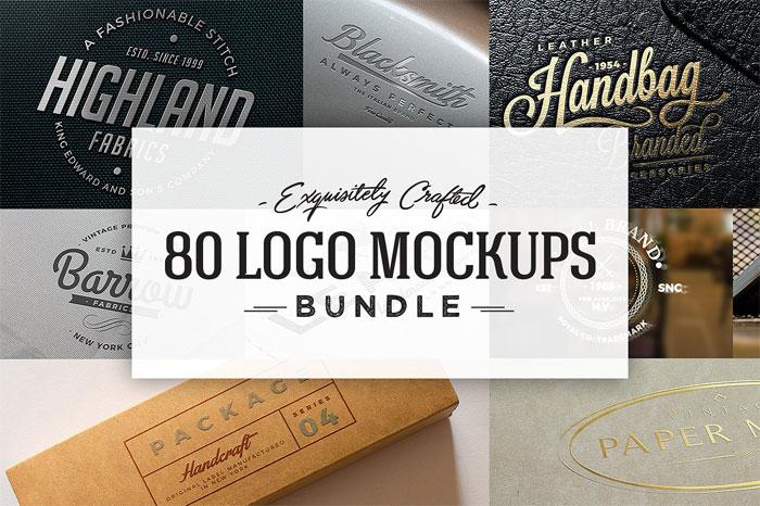 80 plantillas de maquetas de logotipo de logo-mockups-bundle-cove para descargar y usar para presentar sus logotipos