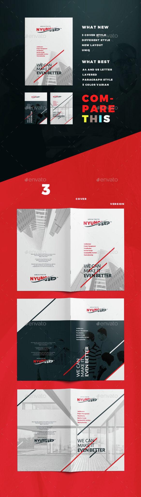 Architect-Brochure-Template 43 Plantillas de Flyer que debes descargar para tus clientes