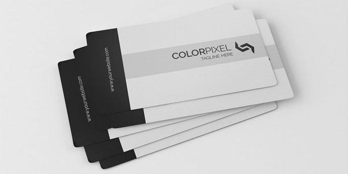 Black-and-White-Business-Ca  gratis para descargar