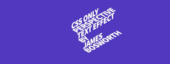 CSS-Perspective-Text_-htt Efectos de texto CSS: 116 ejemplos geniales que puede descargar
