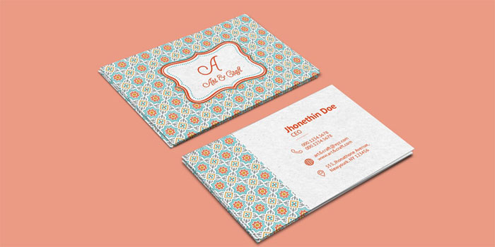 Craft-Agency-Business-Card - 700x350  gratis para descargar