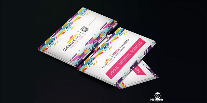 Creative-Business-Card-PSD - 700x350 Plantillas de tarjetas de visita gratuitas que puede descargar hoy