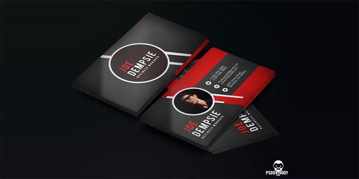 Creative-Business-Card-Temp-1 Plantillas de tarjetas de visita gratuitas que puede descargar hoy