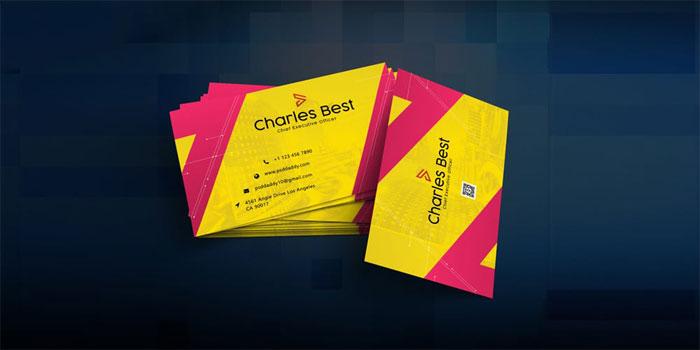 Creative-Business-Card-Temp-2 Plantillas de tarjetas de visita gratuitas que puede descargar hoy