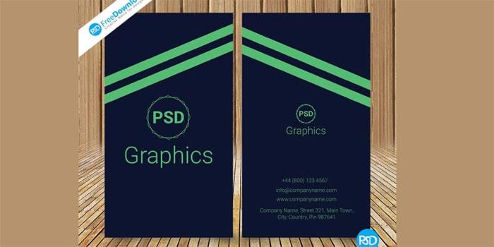 Dark-Business-Card-PSD-1 Plantillas de tarjetas de visita gratuitas que puede descargar hoy