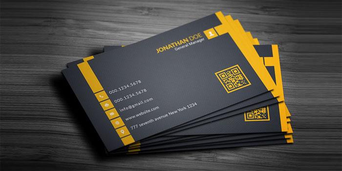 Free-Business-Card-PSD-16 Plantillas de tarjetas de visita gratuitas que puede descargar hoy