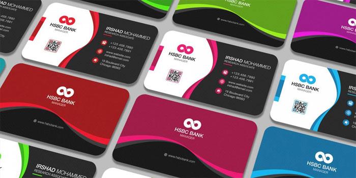 Tarjeta de visita Premium gratuita - 700x350 Plantillas de tarjeta de visita gratuitas que puede descargar hoy