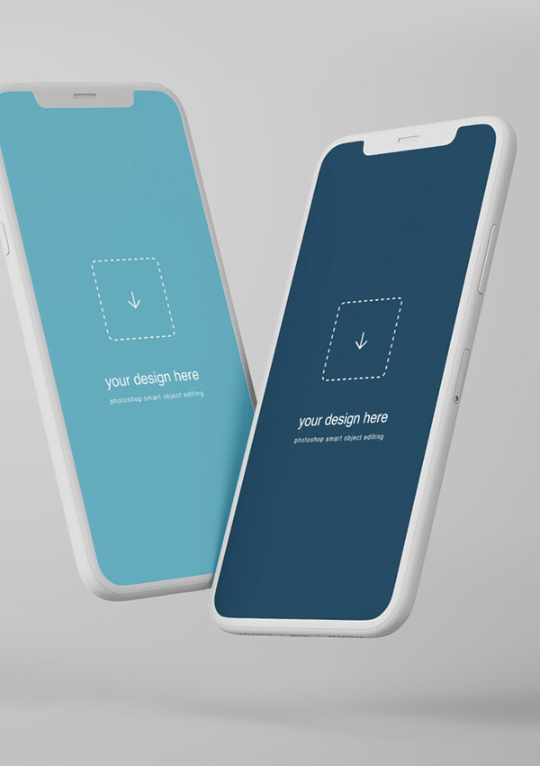 IPhone X Mockup gratis