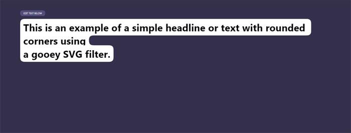 Gooey-text-background-with_ Efectos de texto CSS: 116 ejemplos geniales que puede descargar