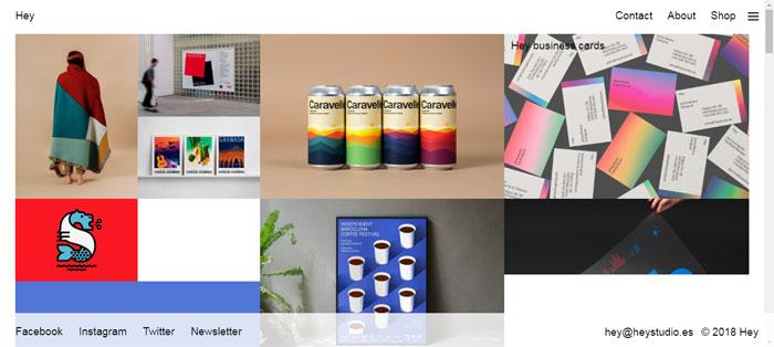 Hey-http ___ heystudio.es_ Compañías de diseño gráfico cuyo trabajo debe revisar