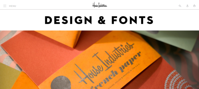 House-Industries-https ___ houseind.com_-700x314 Compañías de diseño gráfico cuyo trabajo debe revisar